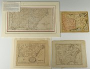 Lot 53: Four 18th c. U.S. Maps, Mainly Southern