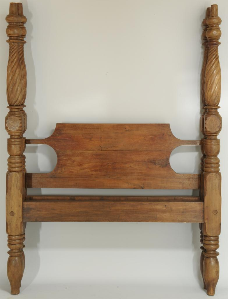 Lot 546: Middle TN Walnut Sheraton High Post Bed