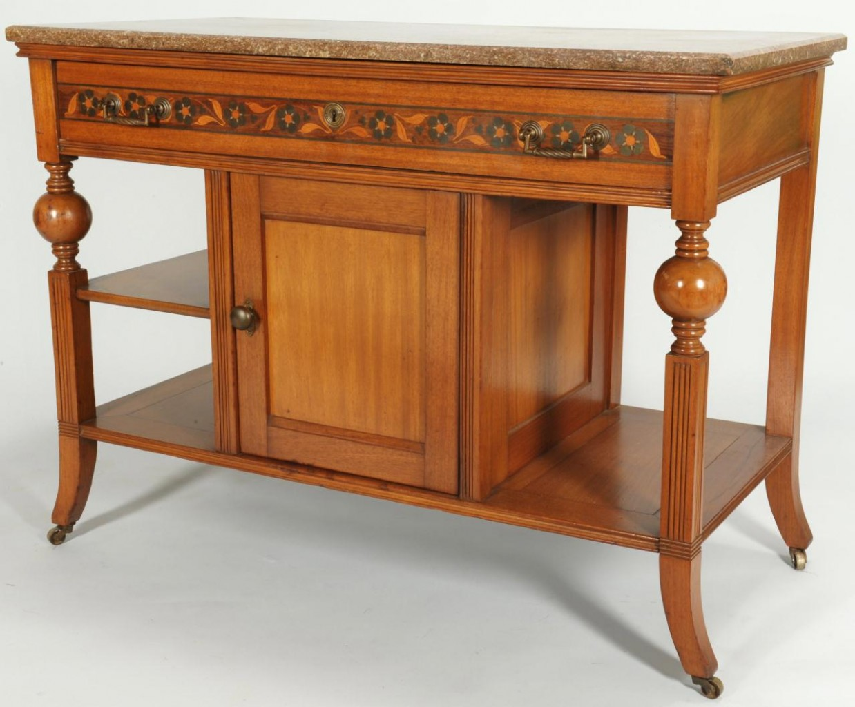 Lot 550: Arts and Crafts Style Table