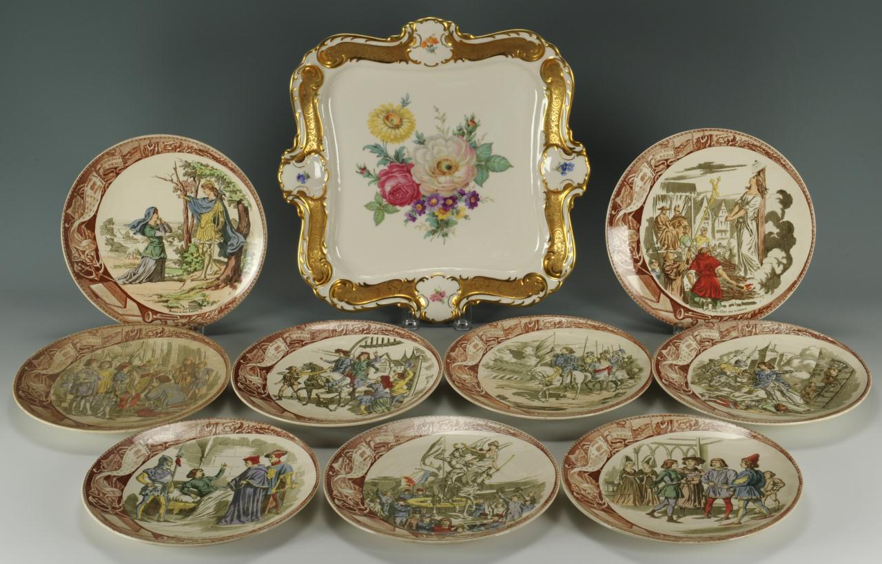 Lot 564: Grouping of European Porcelain, 10 pcs.