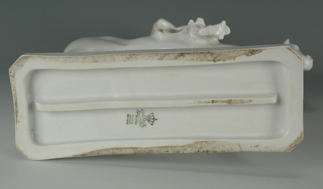 Lot 566: Grouping of German Dresden Porcelain, 5 items