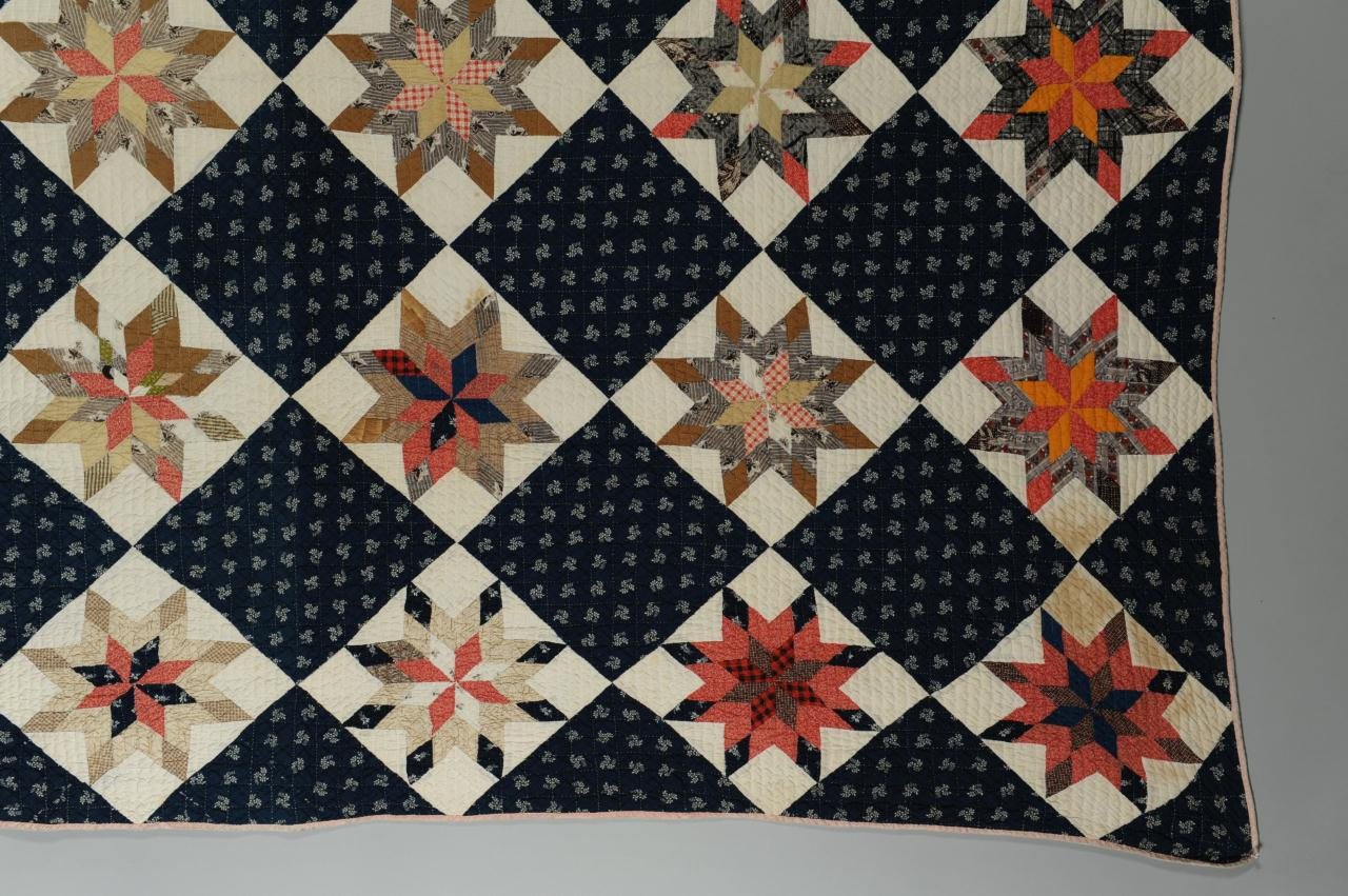 Lot 587: KY Quilt, 8-Pointed Star Pattern
