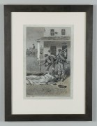 Lot 58: William H. Shelton, Civil War painting