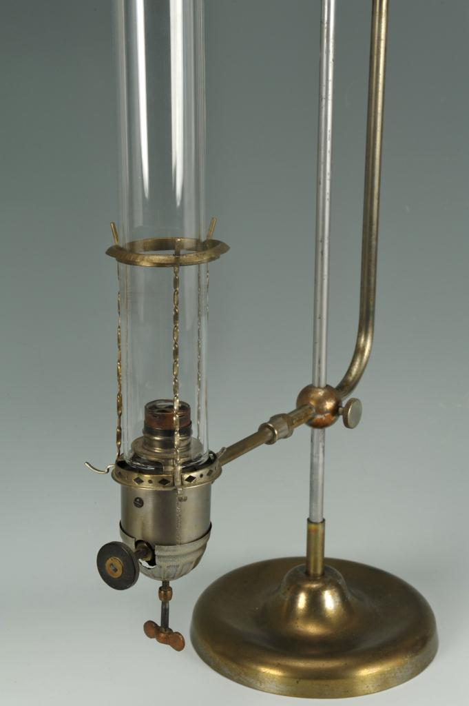 Lot 591: Lot of 2 Gravity Fed Student Lamps
