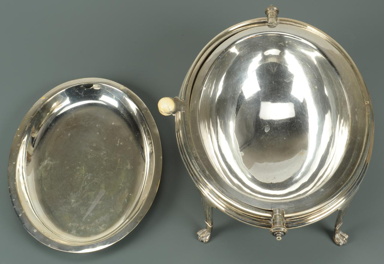Lot 596: Victorian revolving breakfast server