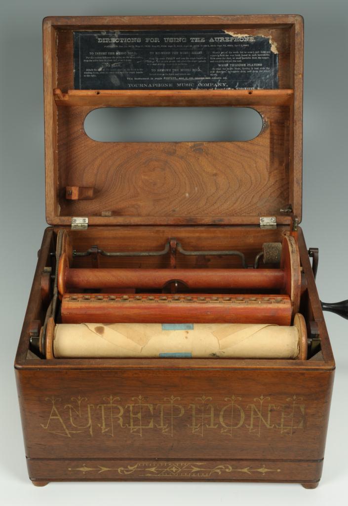 Lot 603: Aurephone Roller Organette