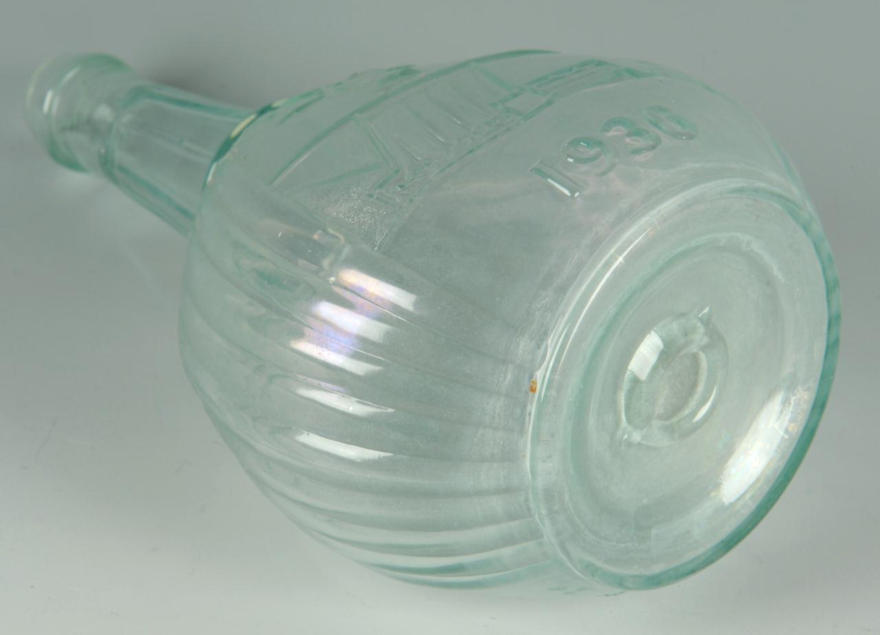 Lot 614: 1936 Franklin Roosevelt TVA Glass Bottle