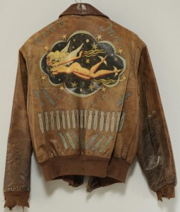 Lot 617: George A. Pierce WWII Bomber Jacket Archive