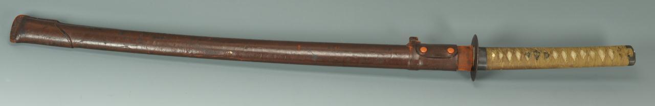Lot 619: Early Japanese Samurai Sword or Tachi