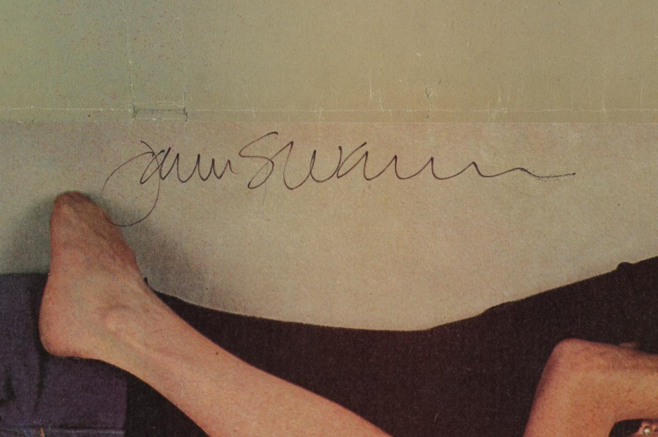 Lot 639: Lennon Rolling Stone Magazine Cover, signed Leibow