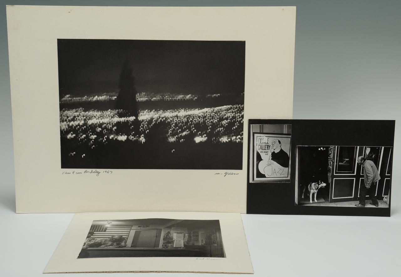Lot 641: 4 Mark Green Photographs