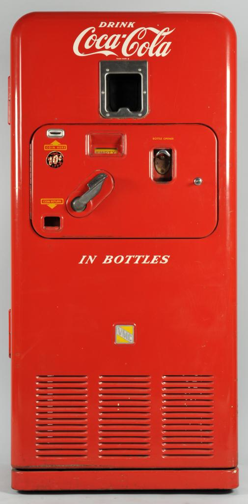 Lot 644: Coca Cola Vendorlator VMC33 Vending Machine