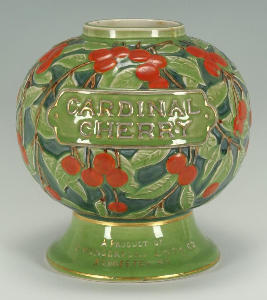 Lot 649: Cardinal Cherry Syrup Dispenser