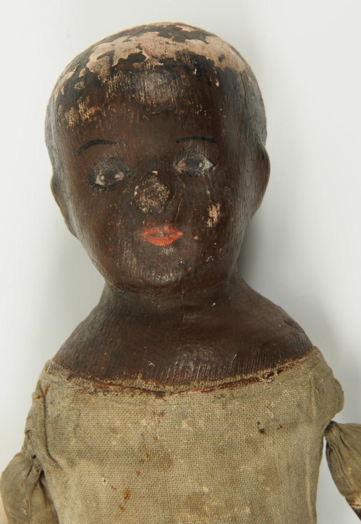 Lot 654: Early 1900s Alabama Indestructible Black Doll