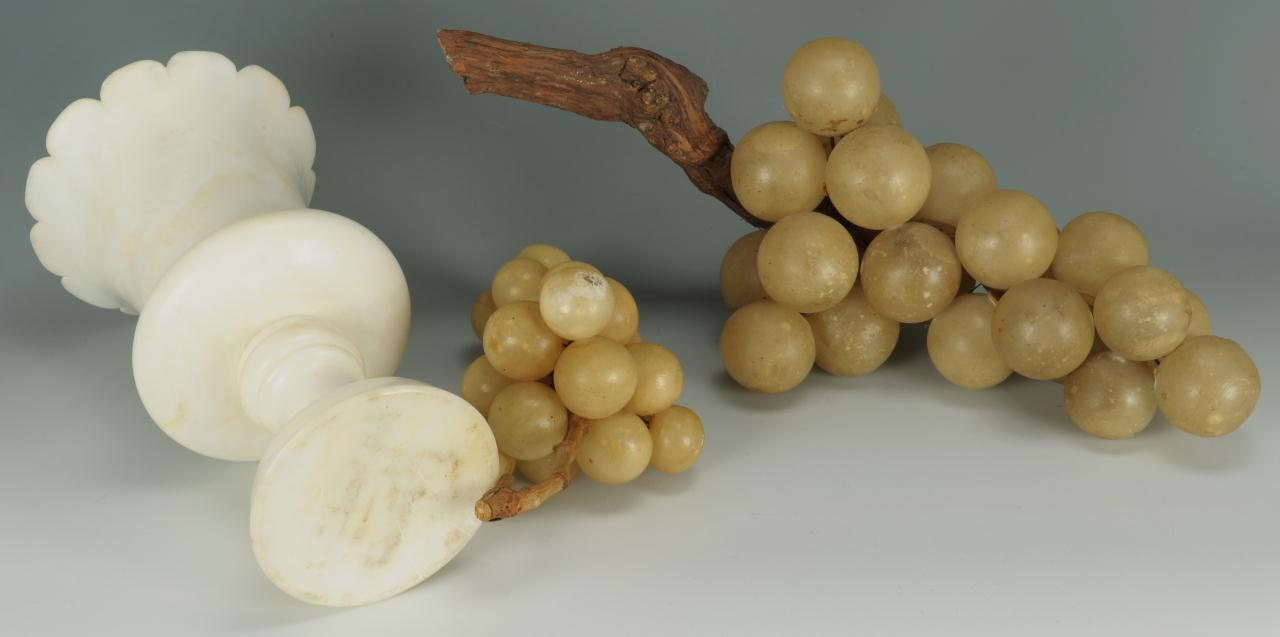Lot 663: Grouping of Alabaster Items, 5 total
