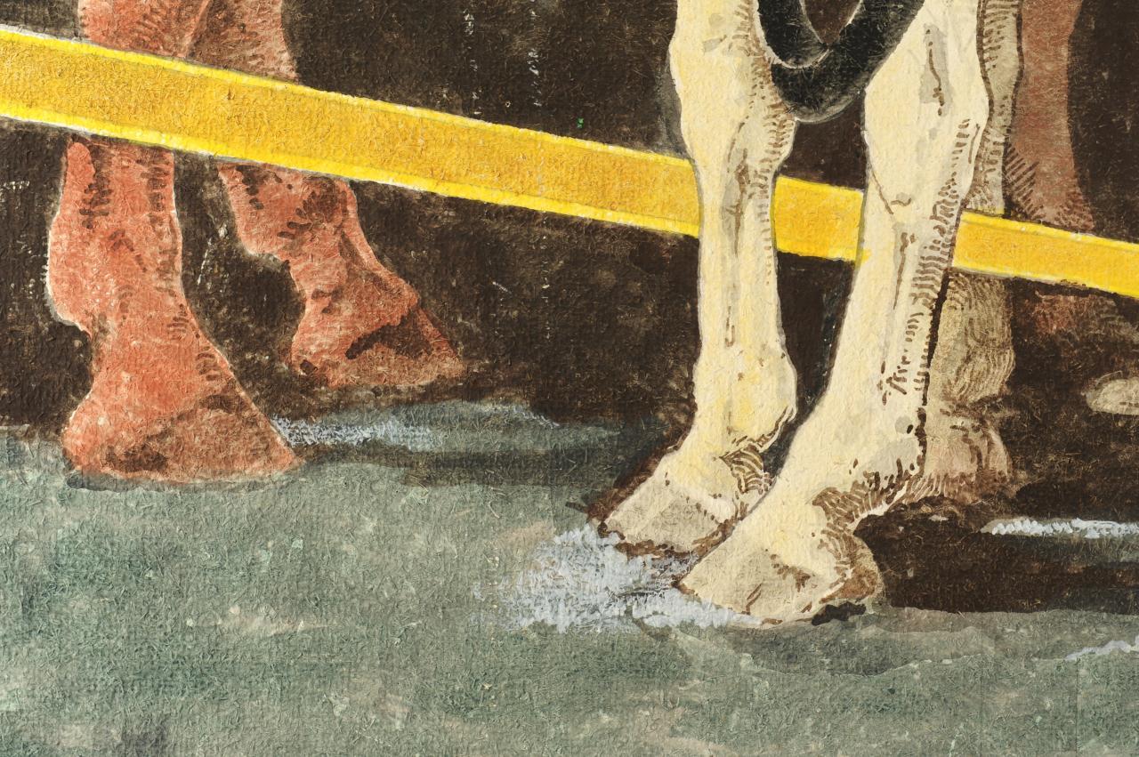 Lot 669: Horst S. Schreck The Butcher & Western Scene