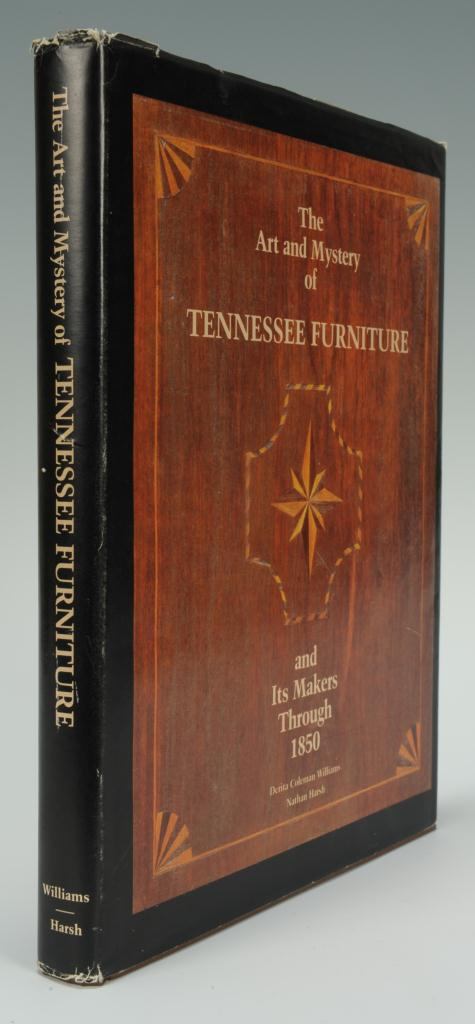 Lot 672: The Art and Mystery of TN Furniture, signed