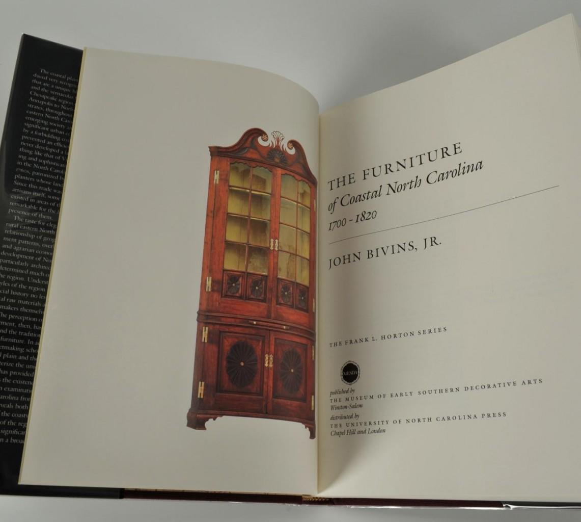 Lot 673: The Furniture of Coastal N.C. by John Bivins