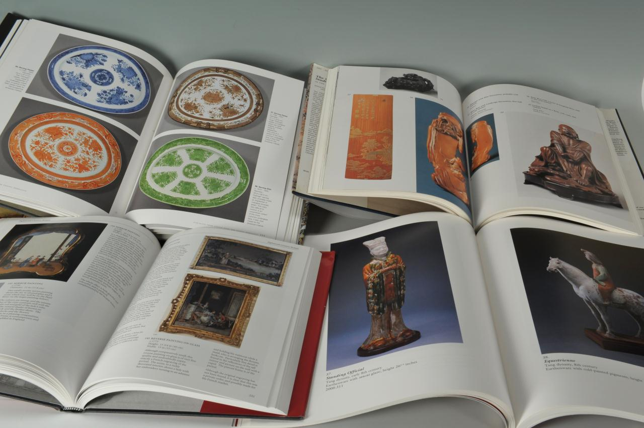 Lot 676: Four Chinese Decorative Arts Books