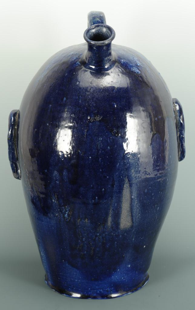 Lot 691: NC Folk Pottery Face Jug, Billy Ray Hussey