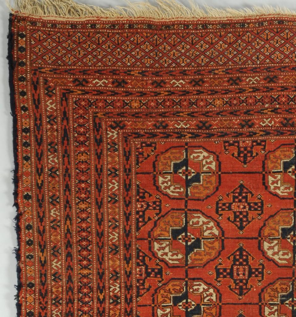 Lot 701 Persian Tekke Turkoman Bokhara Rug 4 2 Quot X 3 3