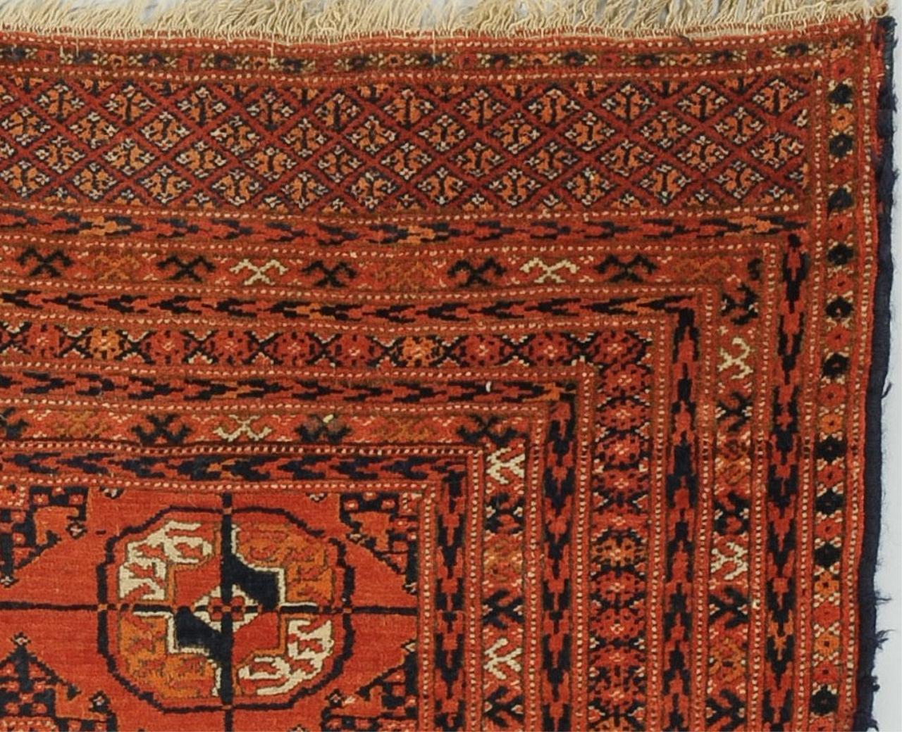 antique tekke bokhara rug - Bokhara Rug