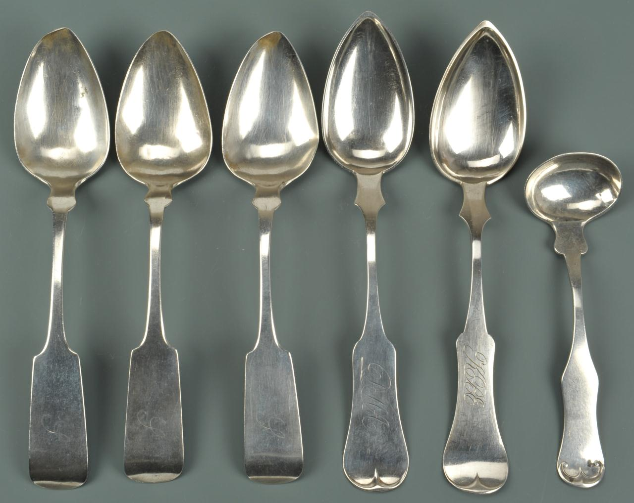 coin silver flatware ky and ny