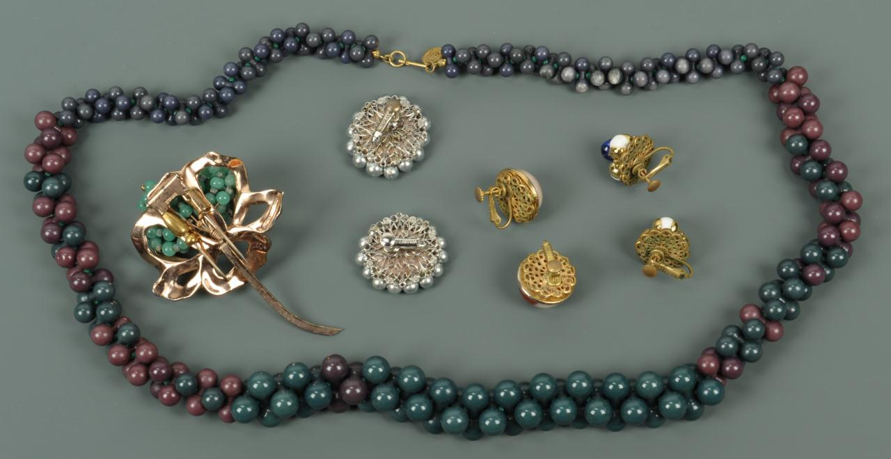 Lot 725: Costume jewelry lot: M. Haskell & N. Rosenstein