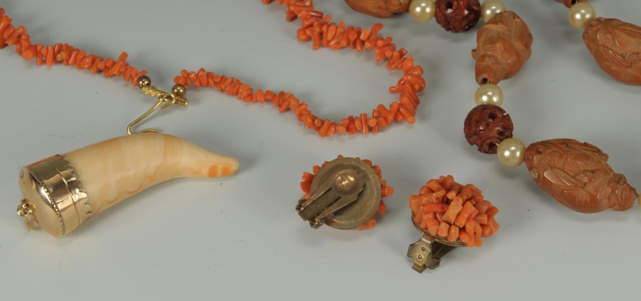 Lot 731: 4 Asian Jewelry Items