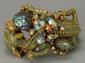 Lot 732: Dragon Parure Bracelet by HAR