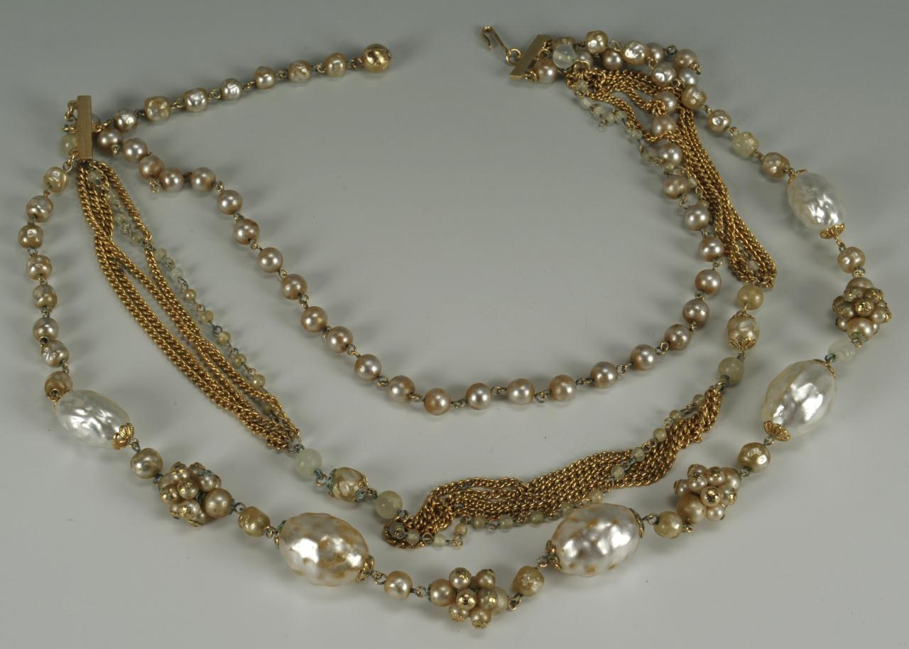 Lot 734: Costume Jewelry Incl Kramer, Hollycraft