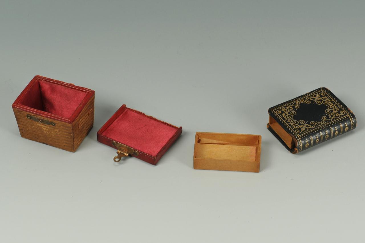 Lot 97: 5 antique miniature novelty items