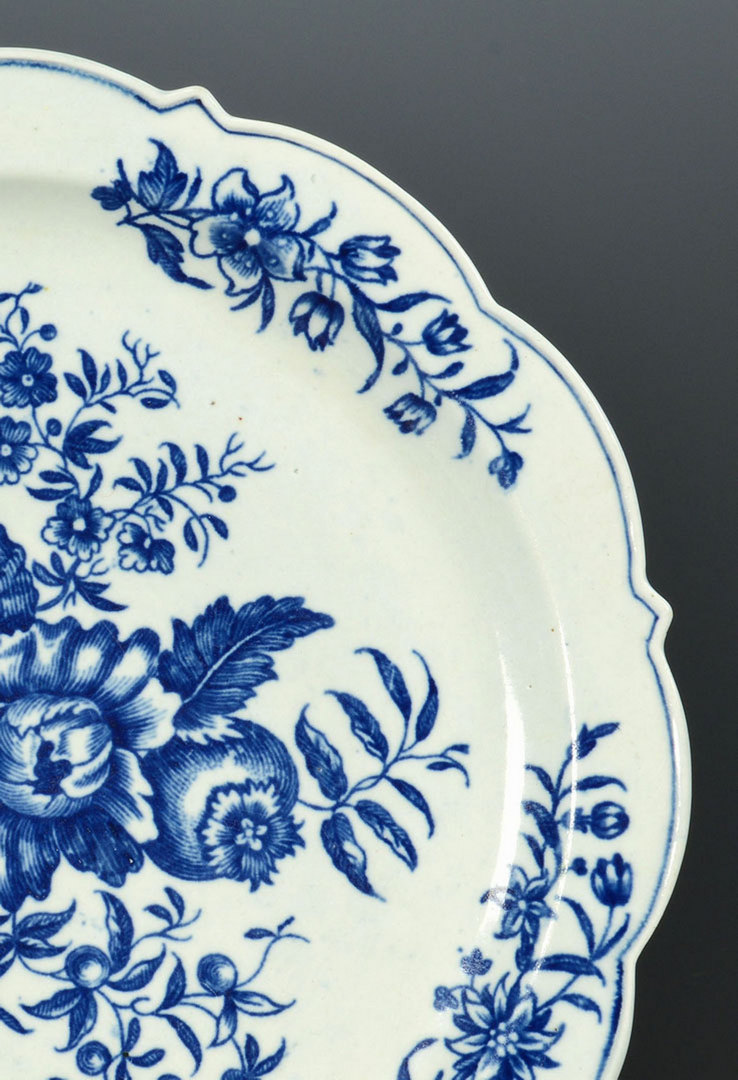 Lot 101: Worcester Cheese Strainer and Plate
