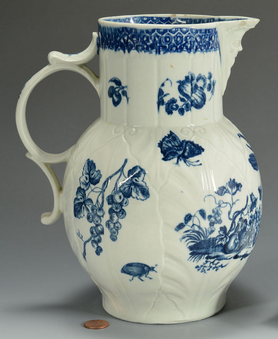 Lot 103: Disguised Mask Pitcher, Dr. Wall or Caughley