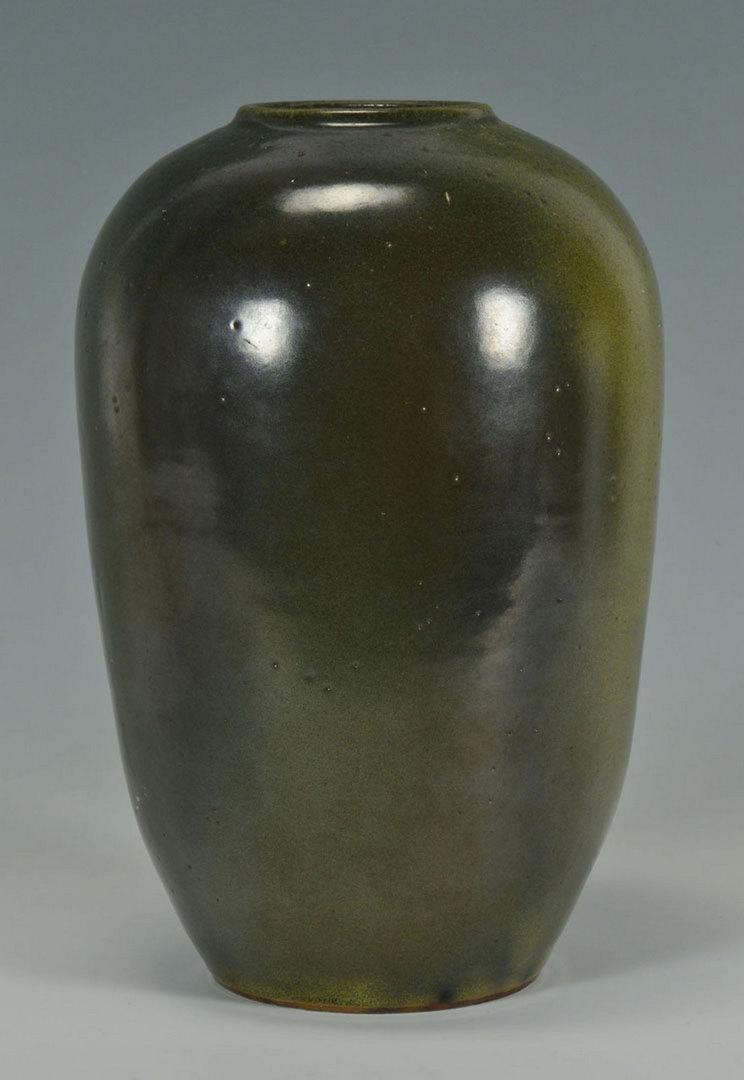 Lot 111: NC Art Pottery Vase by Ben Owen