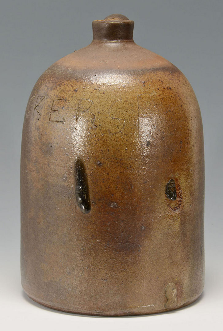 Lot 113: East TN Charles Decker Stoneware Jug
