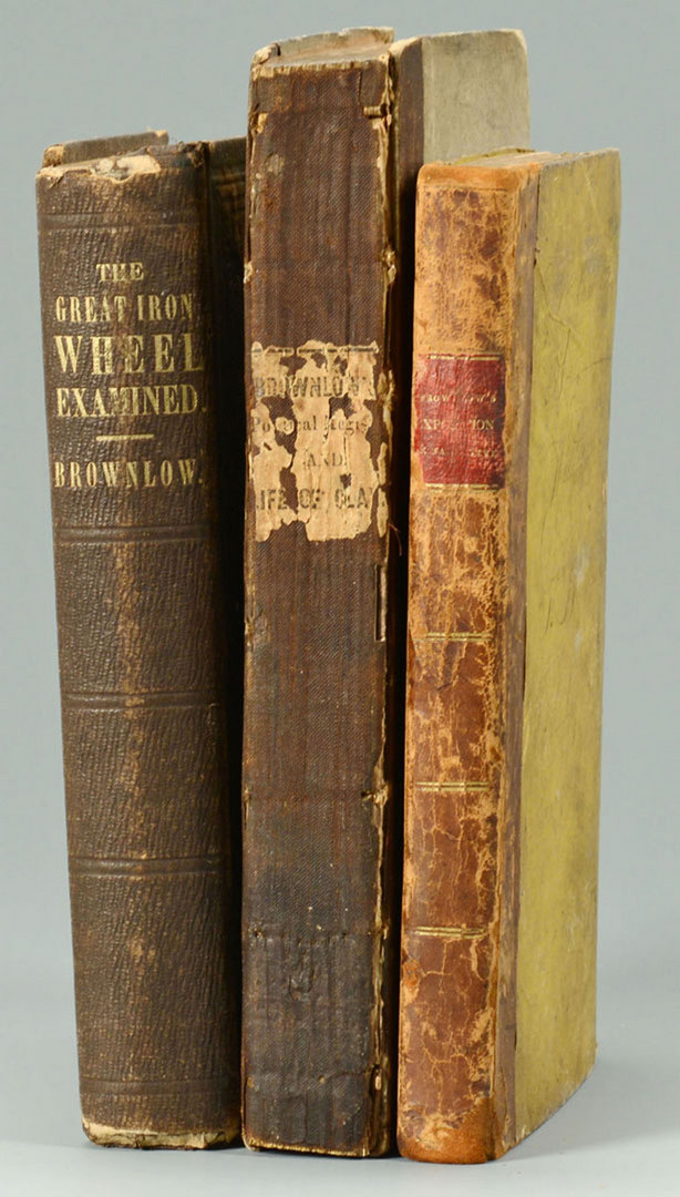 Lot 135: Early Brownlow Document and 3 Brownlow books, TN G