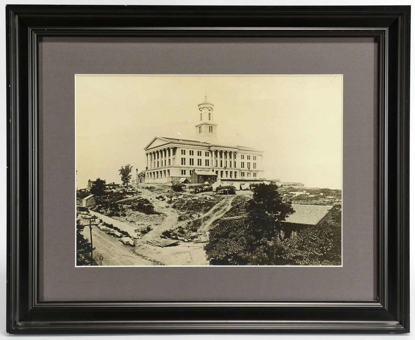 Lot 136: Barnard Photograph of Nashville's Capitol, Civil W