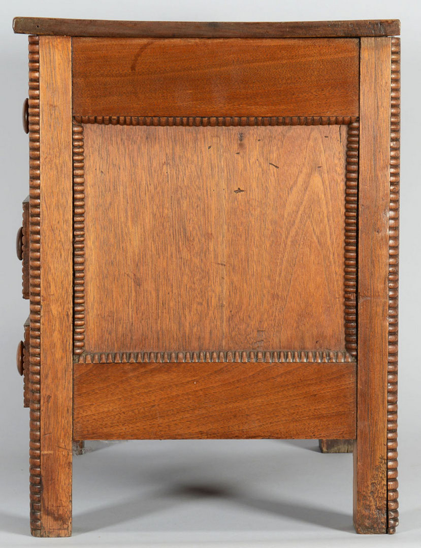 Lot 145: Southern Miniature chest of drawers, circa 1850
