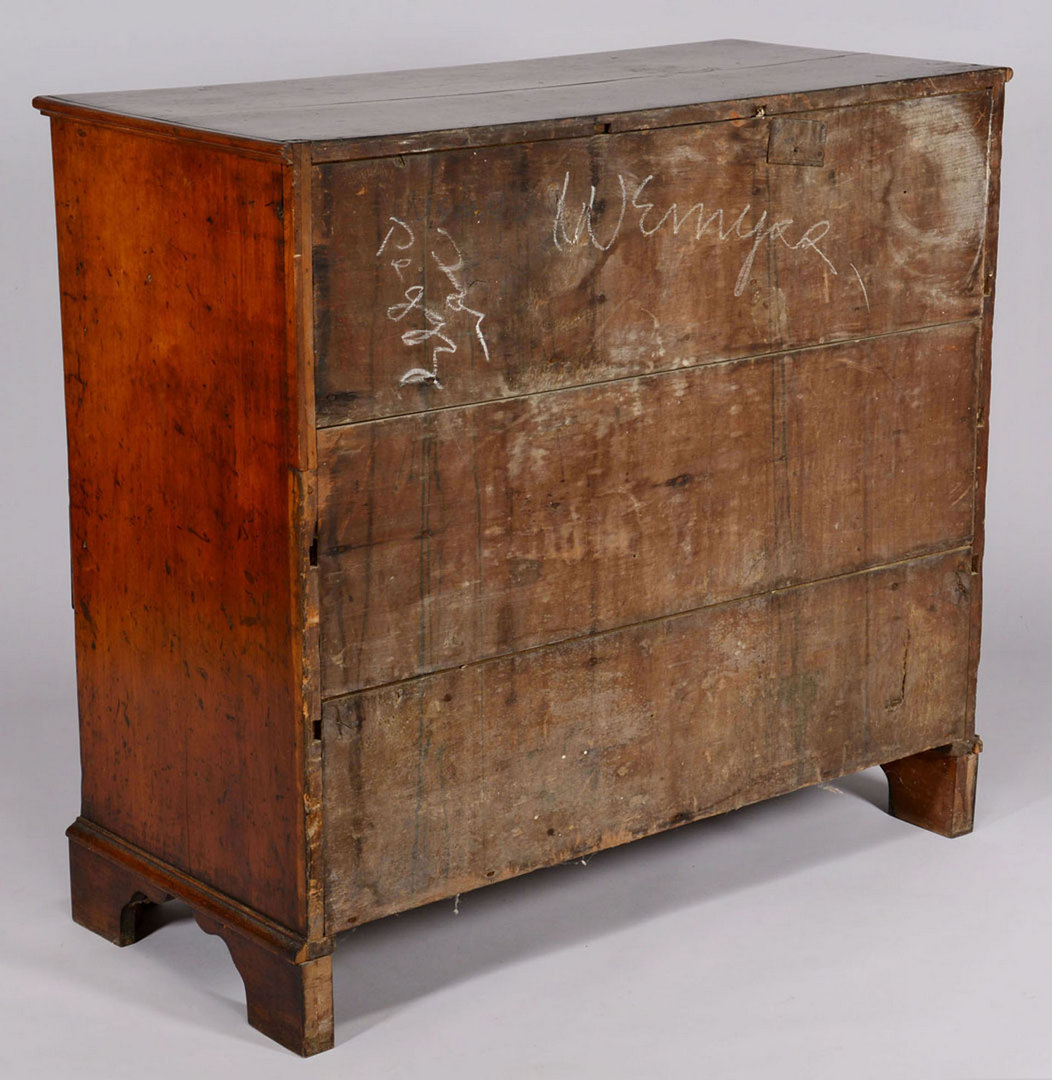 Lot 148: Southern Chippendale Chest of Drawers, MESDA label