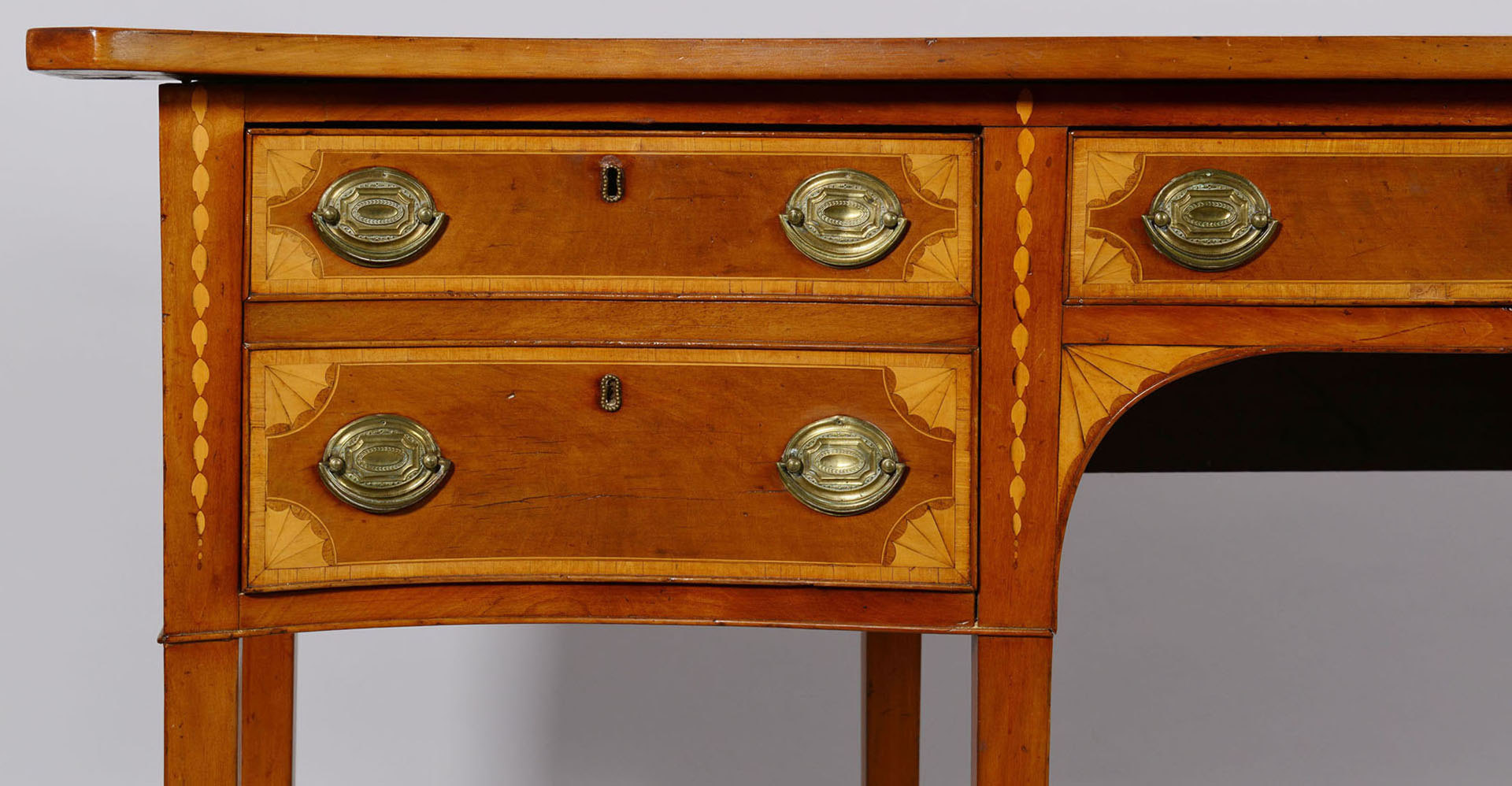 Lot 149: Southern Federal Inlaid Sideboard