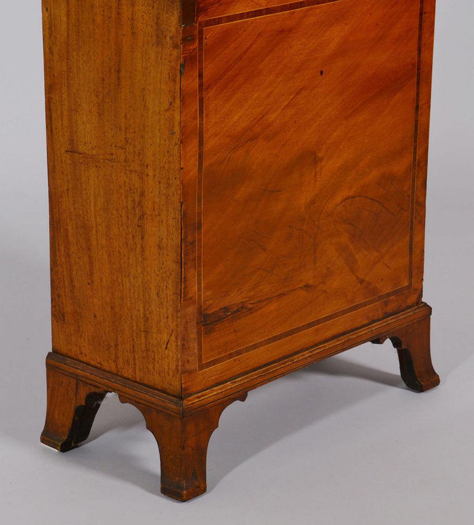 Lot 152: Simon Willard Labeled Tall Case Clock