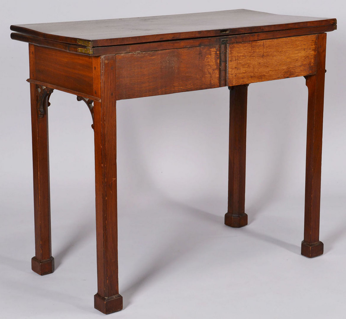 Lot 153: Philadelphia Chippendale Card Table