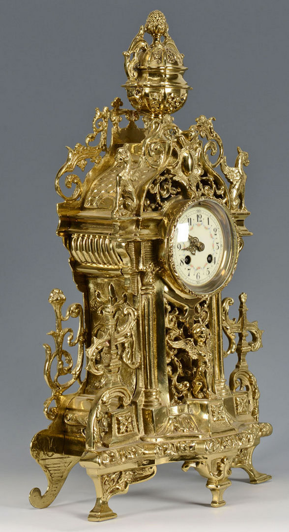 Lot 169: French Figural Clock, Japy Freres