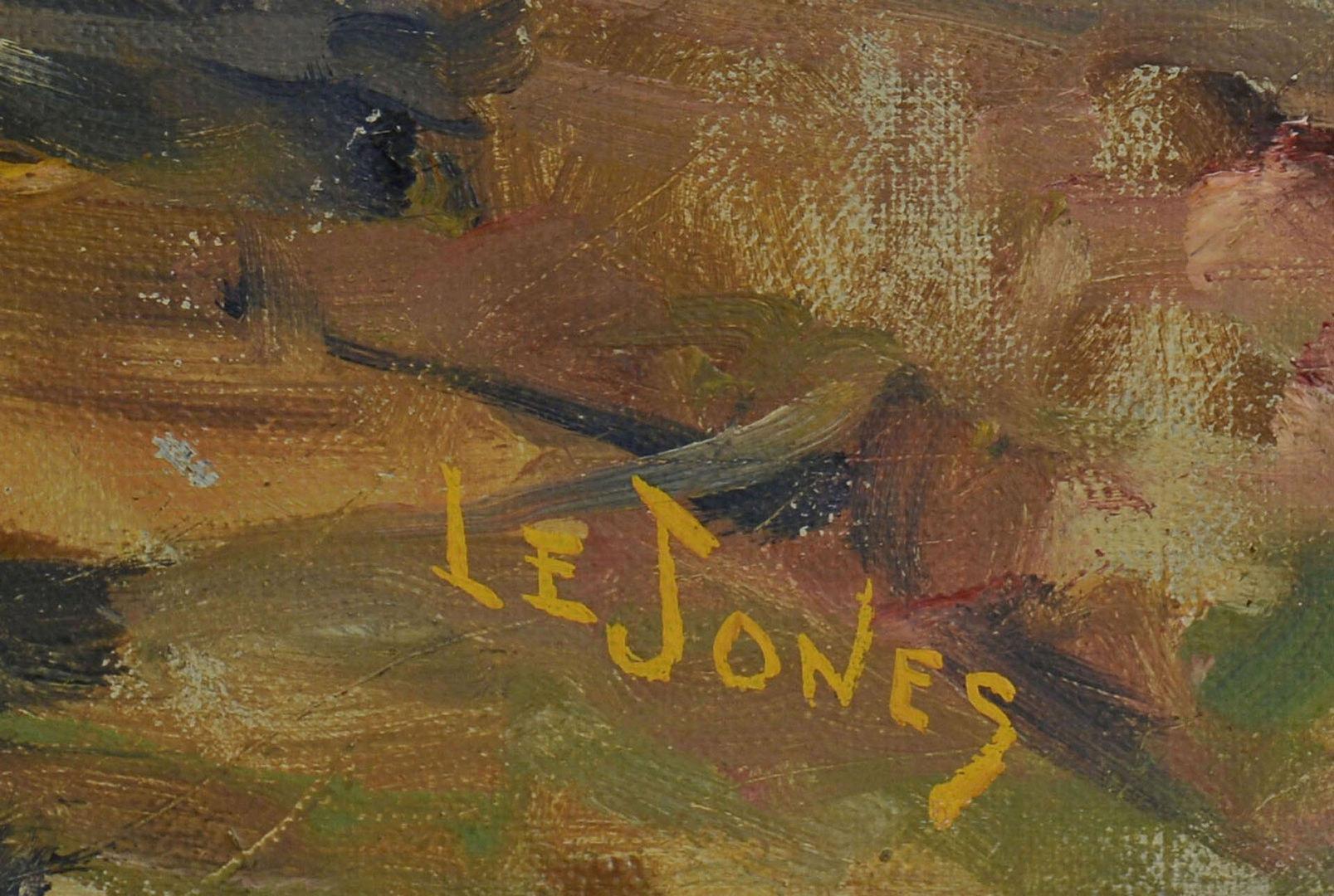 Lot 175: TN Landscape Oil on Canvas by Louis E. Jones