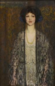 Lot 179: Philip Leslie Hale oil on canvas, La Donna