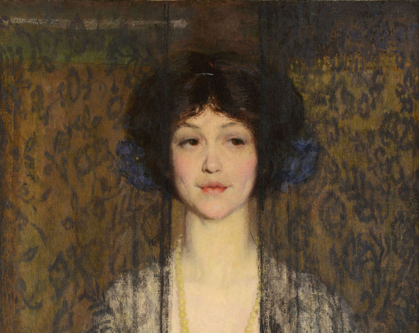 Lot 179: Philip Leslie Hale oil on canvas, La Donna