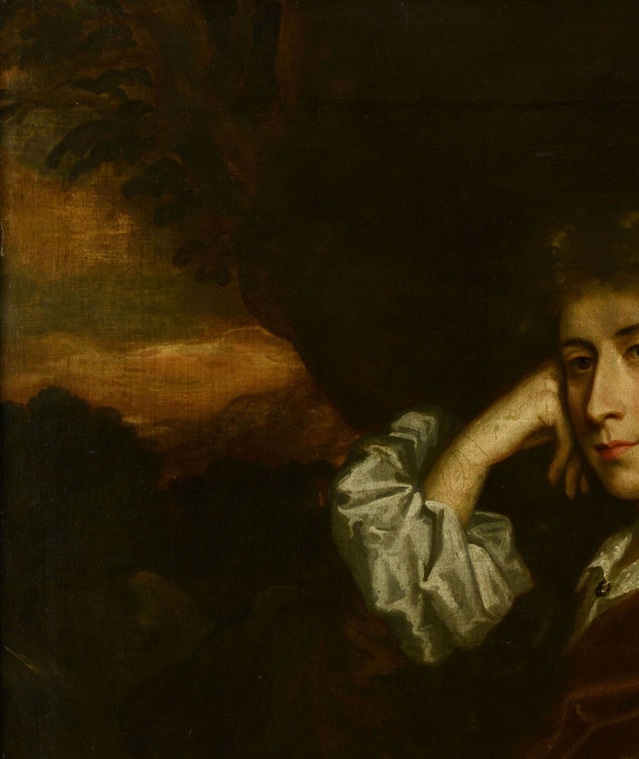 Lot 189: John M. Wright Portrait of Sir Willoughby Aston