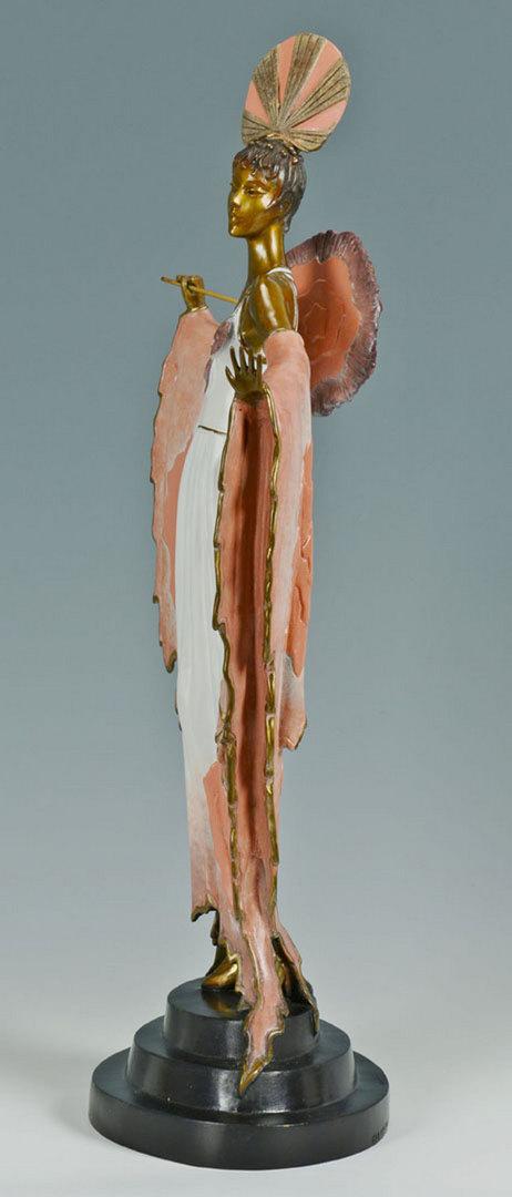 "Lot 203: Erte Bronze Sculpture, ""Twilight"""