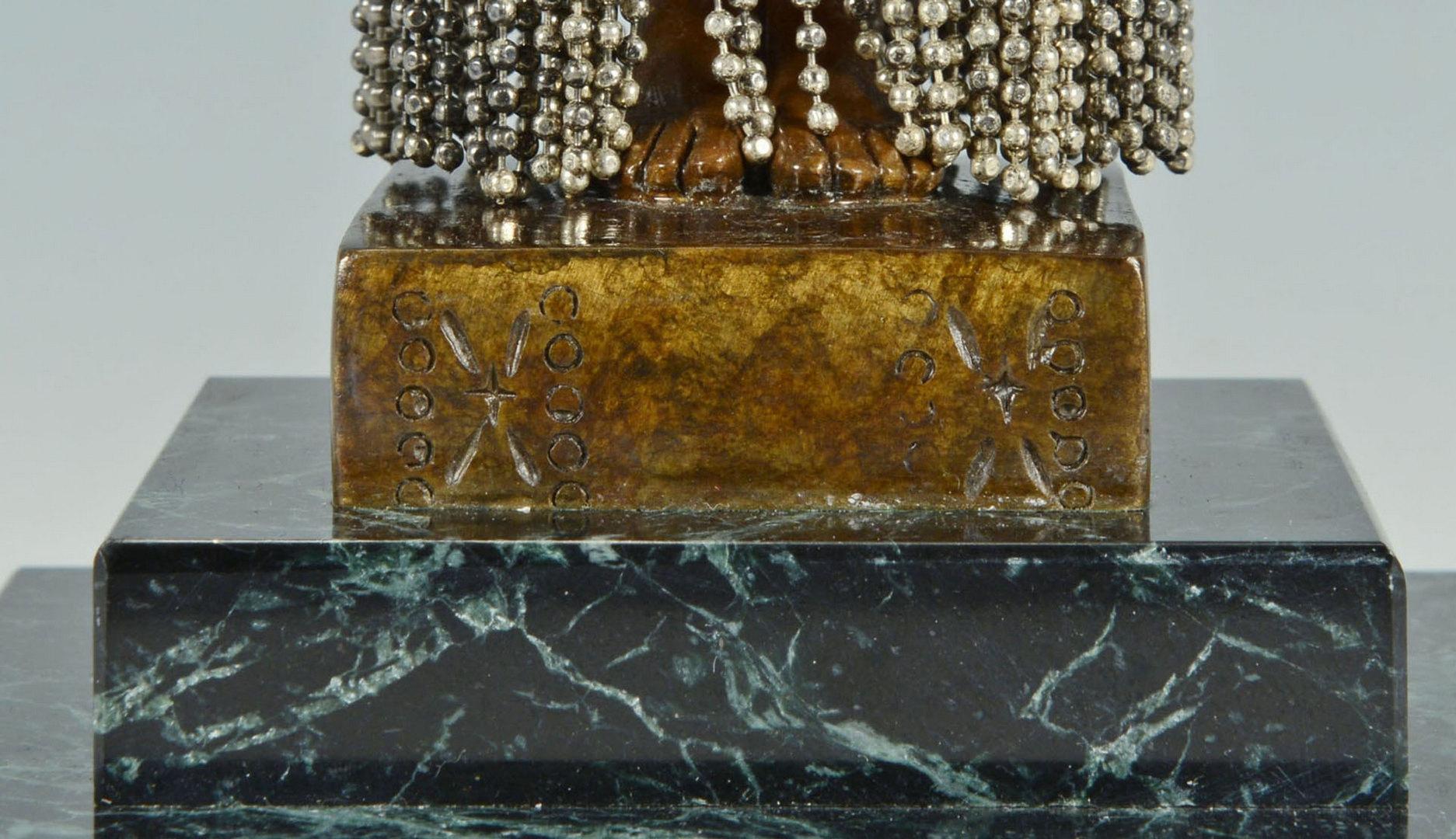 "Lot 205: Erte Bronze Sculpture ""Emerald Vase"""